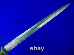 Vintage US Custom Made Handmade German WW2 Dagger Blade Fighting Knife with Sheath