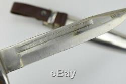 WW2 German Fighting Knife Dagger K98 scabbard Mauser 30179 Bulgarian army WWII