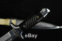 WW2 German Fighting Knife Dagger K98 scabbard Mauser 37576 Bulgarian army WWII