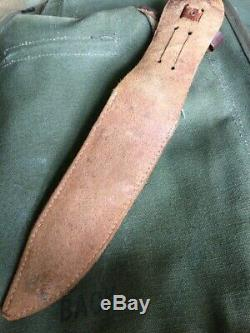WWII EGW fighting Knife Dagger WW2 Scarce Type
