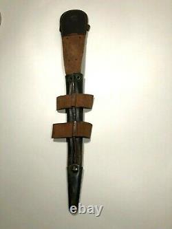 WWII FAIRBAIRN SYKES COMMANDO KNIFE MOULD 1 F&S 3rd FIGHTING DAGGER & SHEATH