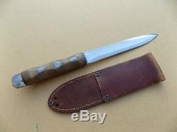 WWII John Ek Theater Fighting Knife Dagger