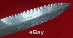 WWII US USM3 CASE COMBAT TRENCH KNIFE/DAGGER SAWBACK (w. Original scabbard)