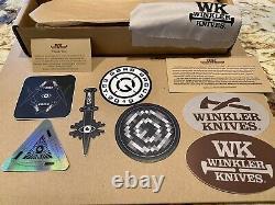 Winkler Knives GBRS Group Combat Dagger (Black). FOG SUPDEF Ferro Concepts