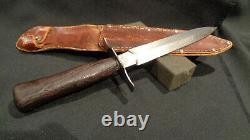 Ww2 Stiletto. French La Vengeur Fighting Knife 1916 S. G. C. O. Dagger