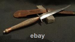 Wwii Fairbairn Sykes Stiletto Dagger J&i Marshall Ww2 F/s Fighting Knife