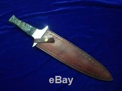 17,3 Seo Personnalisé Main Pleine Tang D2 Acier À Outils Heavy Duty Combat Dague Couteau