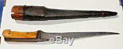 1750 1840. Era Pesh Kabz / Choora Couteau Militaires De Combat Poignard Fourreau