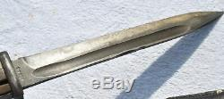 1944 Allemagne Seconde Guerre Mondiale Mauser K98 Fusil Baïonnette Dagger Combat Couteaux Numéros Correspondants