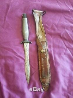 1967 Gerber Mark II 2 Veitnam Combat Couteau Dague Vintage