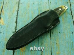 1977 A G Russell Allemagne Stag Stag Sting Boot Dagger Dirk Couteau Fixed Blade Ag Couteaux