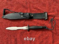 1978 Gerber Mark II Combat Dagger Fighting Couteau Avec Étui