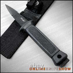 7.5 Tactique À Lame Fixe De Chasse De Survie Couteau De Démarrage Lance Point Dagger Gaine