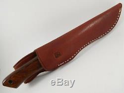 Al Mar M-30 Immigration Border Patrol Vintage 1980 De Combat Dague Couteau