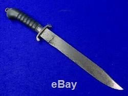 Allemagne Allemagne Première Guerre Mondiale Ww1 Grand Fighting Couteau Dague Epée Courte Lame Signée