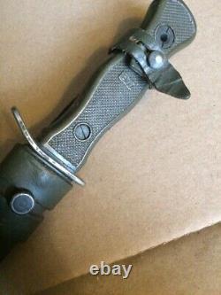 Allemagne De L'ouest Trench Couteau Fighting Couteau Allemagne Dagger Original