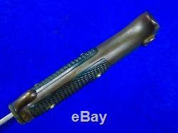 Allemand Allemagne Ww1 Mauser Rfv Robe Baïonnette Fighting Couteau Dague À Fourreau