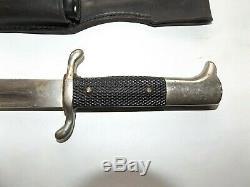 Allemand Allemagne Ww2 Robe De Pompier Dague Couteau Fighting X1