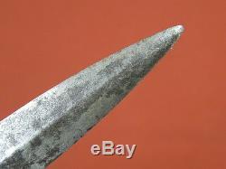 Antique 18 Siècle France Français Ou L'anglais Britannique Fighting Knife Dagger