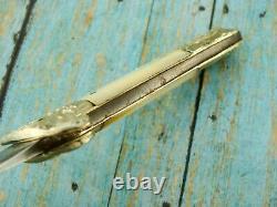 Antique CIVIL War Era Corsan Denton Burdekin Anglais Pearl Dagger Knife Knives