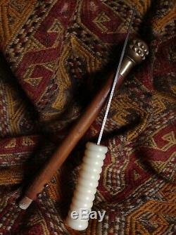 Antique Dagger Bronz Mace Sabres Hunter Couteau En Bois Gun Fight Fusil Lame En Acier
