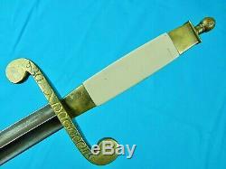 Antique Impériale Russe Russie Ww1 Présentation Dague Couteau Fighting