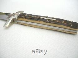 Antique Minty Guerre Civile 8 Dans La Lutte Contre Bowie Knife Dagger F Ward B4 Tout Sheffield