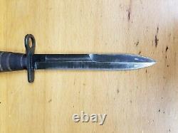 Baïonnette Américaine De La Seconde Guerre Mondiale Pour M1 Carbine Camillus Fighting Knife Dagger Withus M8a1