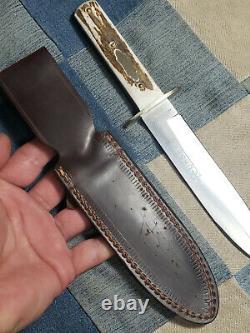 Belle Monnaie J Russell & Co Green River Works Bowie Dagger Knife