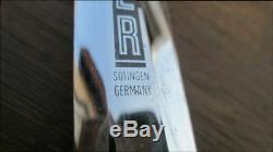 Big Vintage Hugo Koller Allemagne Dagger Stiletto Se Battre Couteau Withmicarta Poignée