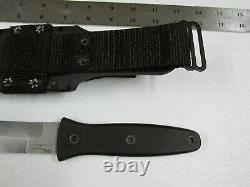 Blackjack Vintage Blackmoor Us2000 Dagger Se Battre Couteau Avec Gaine USA Fabriqué