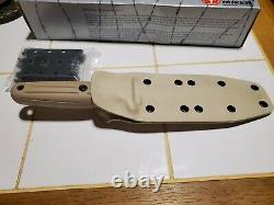 Boker 120543des Applegate Fairbairn Desert Storm Dague Couteau Avec Nibrage