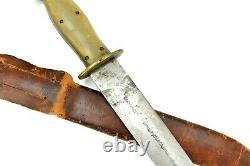 Bon Couteau Mexicain De Poignard De Combat De Cru