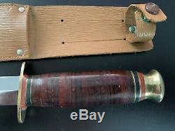 Britannique Seconde Guerre Mondiale Dague Fighting Couteau Sud & Richardson De Sheffield Angleterre