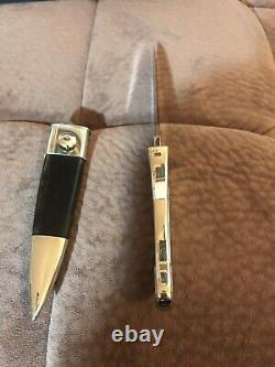 Buster Warenski Custom Engraved Art Dagger Knife-one-of-a-kind! Ère Sans Amour