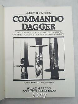 Commando Dagger, L'histoire O Le Couteau De Combat Fairbairn-sykes