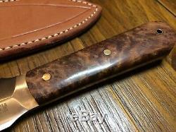 Couteau Bark River Et Outil Mountain Man Dagger Prototype Belle