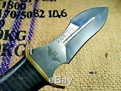 Couteau De Combat Dagger Karatel Punisher Main Armée Militaire Tactique De Survie