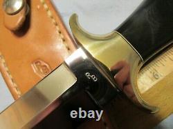 Couteau Fait Main Personnalisé. Ray Beers Dagger C. Années 1980. Inutilisé. Excellent++