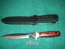 Couteau Jc Couronnement Vintage 1980 De Combat Dagger Espagne Inoxydable 440 11 Lht