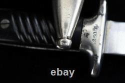 Couteau Rare Se Battre Allemand Dagger K98 Mauser Remake W Fourreau Armée Bulgare