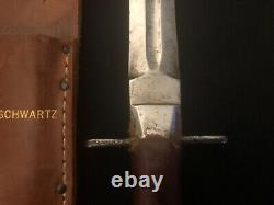 Couteaucrafters Patton Sword Knife -crafters/lf&c -dagger -fighting Collection