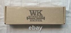 Couteaux De Winkler Dague De Combat Du Groupe Gbrs (noir)