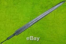 Damas Acier Sur Mesure Épée Blank Lame Dagger 31 Couteaux Fournitures Pour La Fabrication Mi-24
