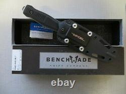 Discontinued Benchmade 133 Fixed Infidel D2 Dagger Boot Knife Nouveau Dans Box USA