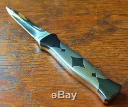 Don Gambler Dagger Personnalisée Losier Dirk Fighter 80 Couteau Knive Stiletto Superbe