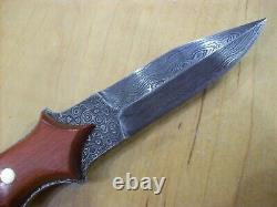 Edition Limitée Buck Knife 970 Damascus Dagger Mint Gem Nos 2001 #104/1000