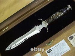 Edition Limitée Buck Knife Custom 981 Dagger #170/250 Mint Gem Beauty