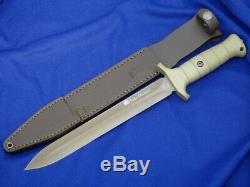 Eickhorn Couteau Dague De Porc Autocollant Sanglier Chasseur Béryllium Od Vert De Survie Allemande