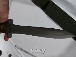 Ek Knife Co. U. S. A. Model 1941 Korea Ww2 Vietnam, Combat Fighting Kife